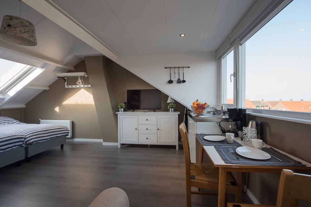 Kamer en studio voor 2 tot 4 personen